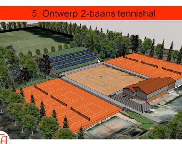 Gezamenlijke reactie op voorstel tennishal Alta