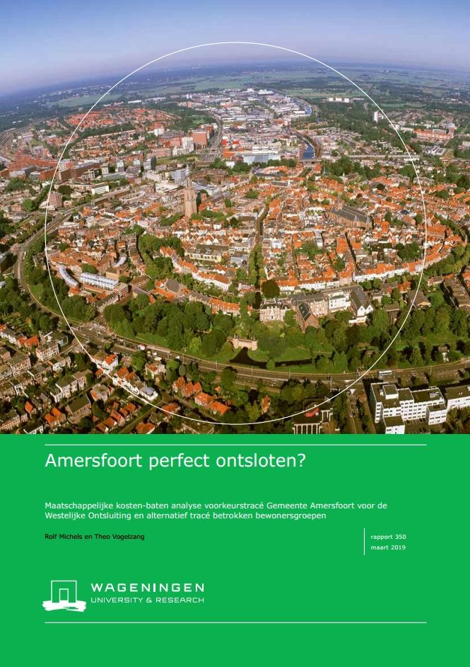 Wageningen Universiteit weerlegt kritiek B&W Amersfoort